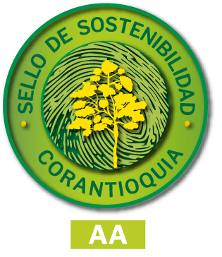 Corantioquia Sustainability Seal – AA