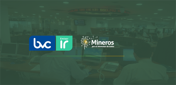 "Mineros S.A. received the ""Issuer Recognition - IR""Award by the Colombian Stock Exchange (BVC)"