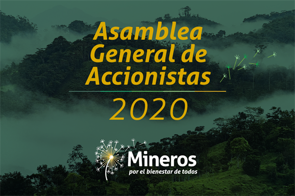 MINEROS S.A. Announces Special Measures for its General Shareholders Meeting